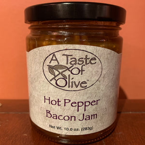 Hot Pepper Bacon Jam - A Taste of Olive