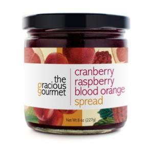 Cranberry Raspberry Blood Orange Spread - A Taste of Olive