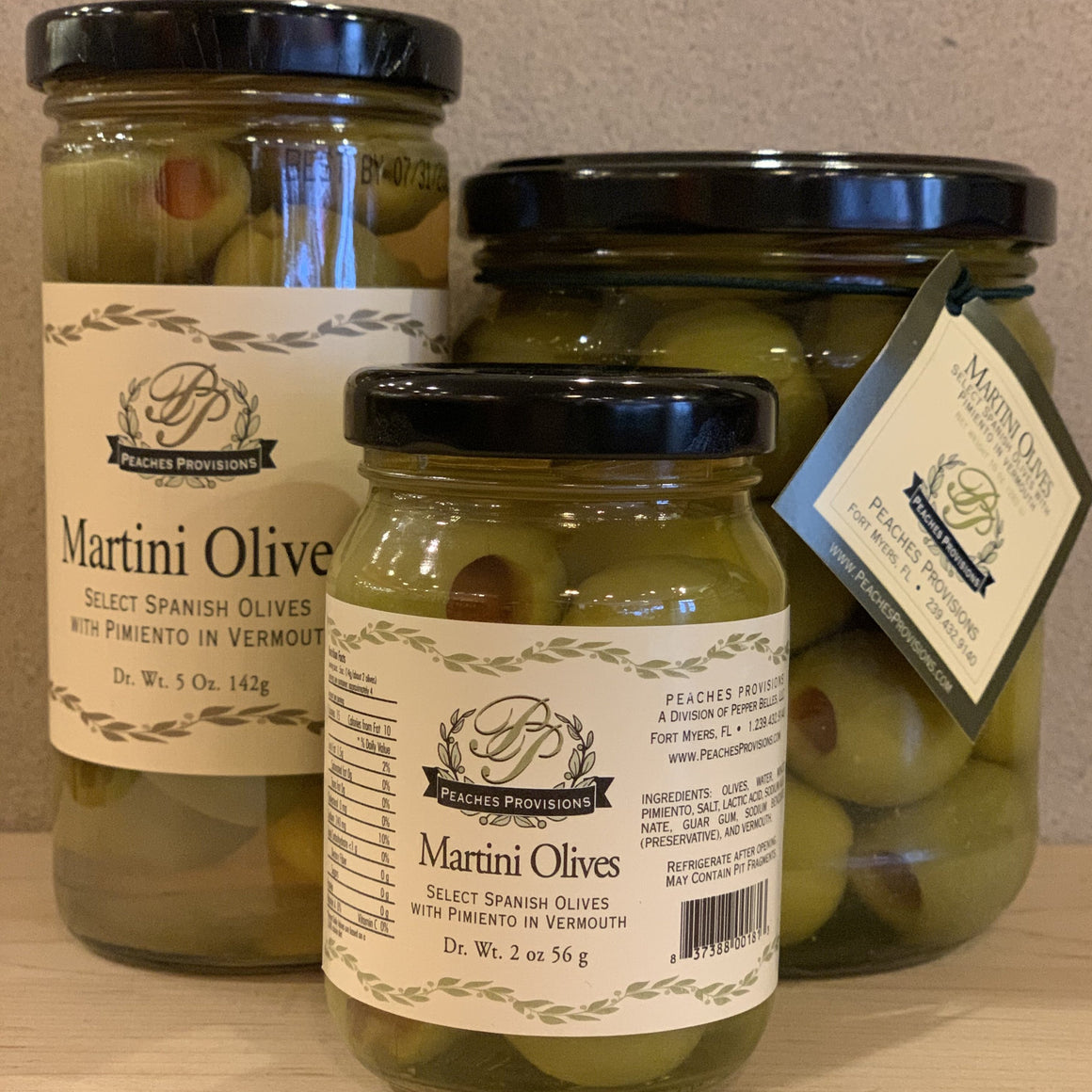 Martini Olives - A Taste of Olive