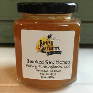 Smoked Raw Honey, 12 oz - A Taste of Olive