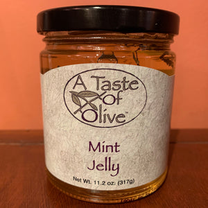 Mint Jelly - A Taste of Olive