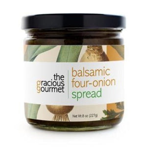 Balsamic Four-Onion Spread - A Taste of Olive