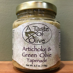 Artichoke and Green Olive Tapenade - A Taste of Olive