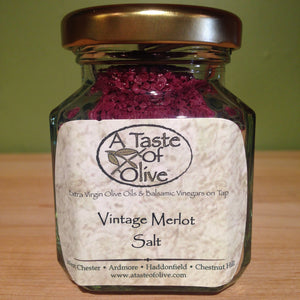 Vintage Merlot Sea Salt - A Taste of Olive
