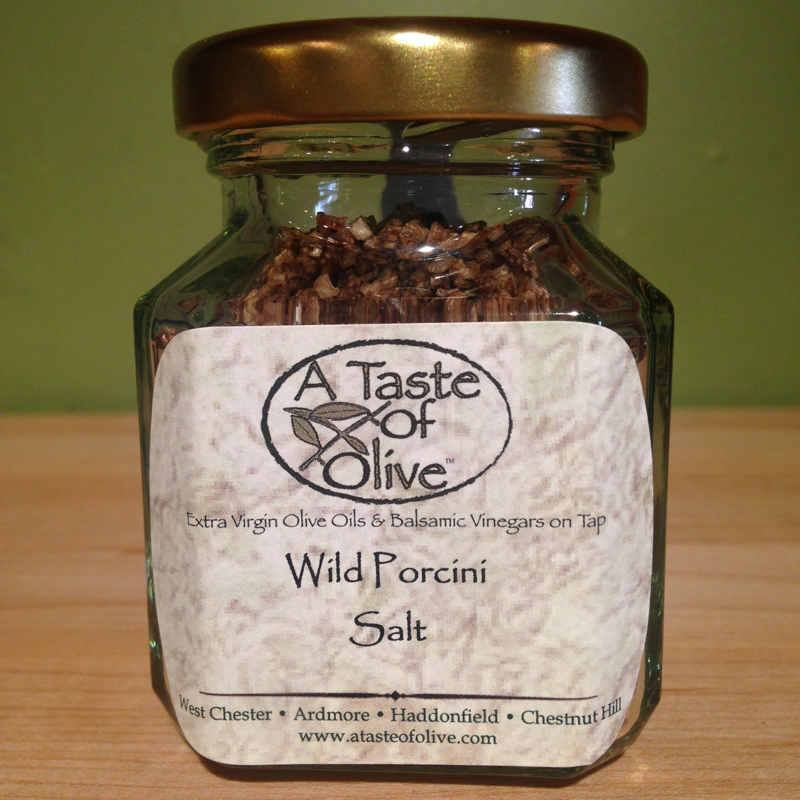 Wild Porcini Sea Salt - A Taste of Olive