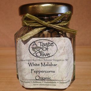 White Malabar Peppercorns - A Taste of Olive