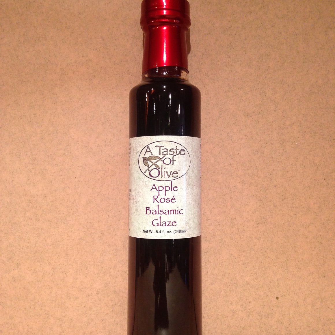 Apple Rose Balsamic Glaze - A Taste of Olive