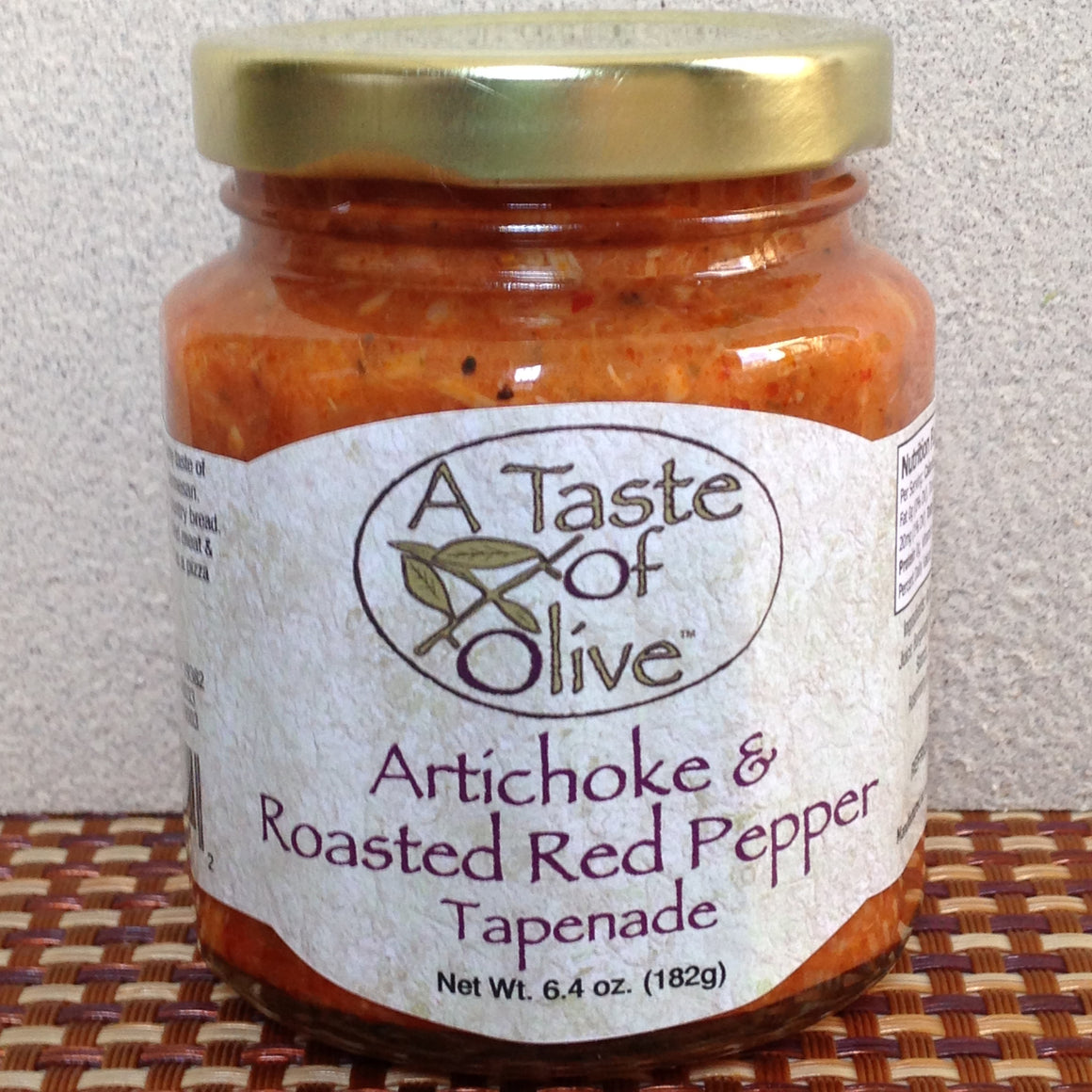 Artichoke & Roasted Red Pepper Tapenade | A Taste of Olive - A Taste of Olive