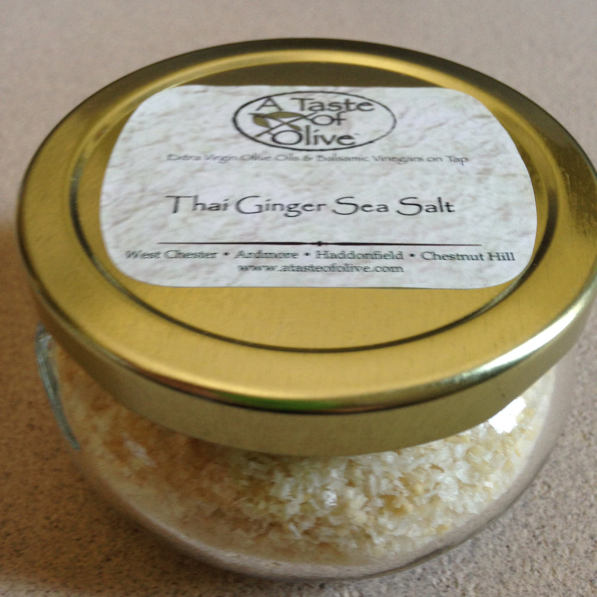 Thai Ginger Sea Salt - A Taste of Olive