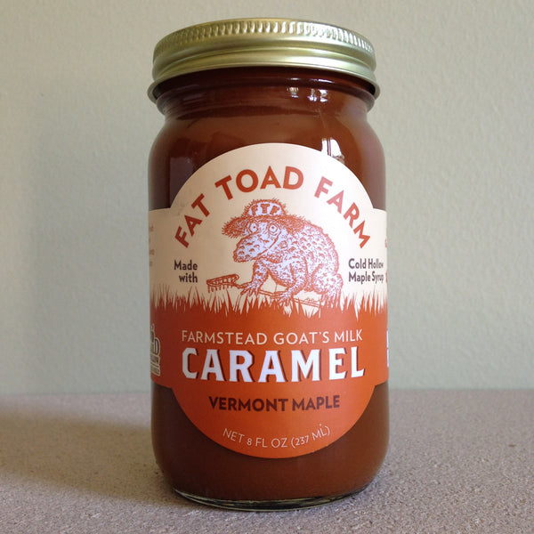 Vermont Maple Goat's Milk Caramel - A Taste of Olive