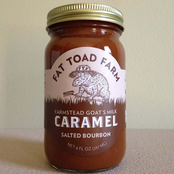 Fat Toad Farm Traditional Goat's Milk Salted Bourbon Caramel Sauce - A Taste of Olive