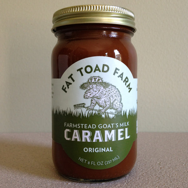 Fat Toad Farm Traditional Goat's Milk Caramel - A Taste of Olive