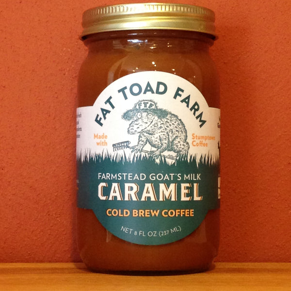 Fat Toad Farm Traditional Goat's Milk Cold Brew Coffee Caramel Sauce - A Taste of Olive