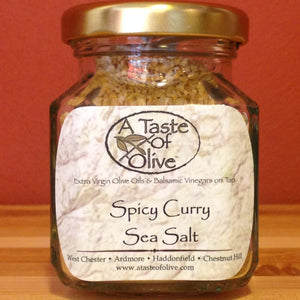 Spicy Curry Sea Salt - A Taste of Olive - 1