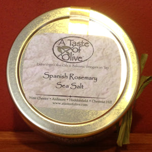Spanish Rosemary Sea Salt - A Taste of Olive