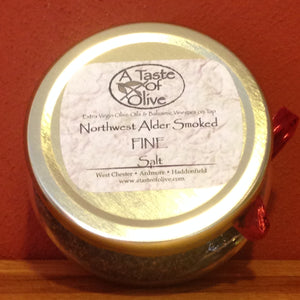 Alderwood Smoked Sea Salt | A Taste of Olive - A Taste of Olive - 1