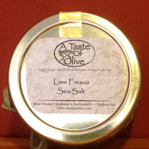 Lime Fresco Sea Salt | A Taste of Olive - A Taste of Olive - 1