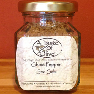 Ghost Pepper Sea Salt - A Taste of Olive