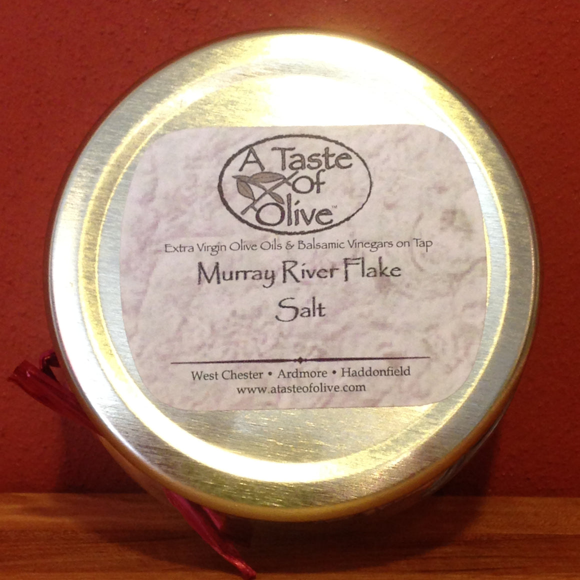 Murray River Pink Flake Salt - A Taste of Olive