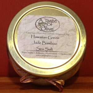 Hawaiian Green Jade Bamboo Sea Salt - A Taste of Olive