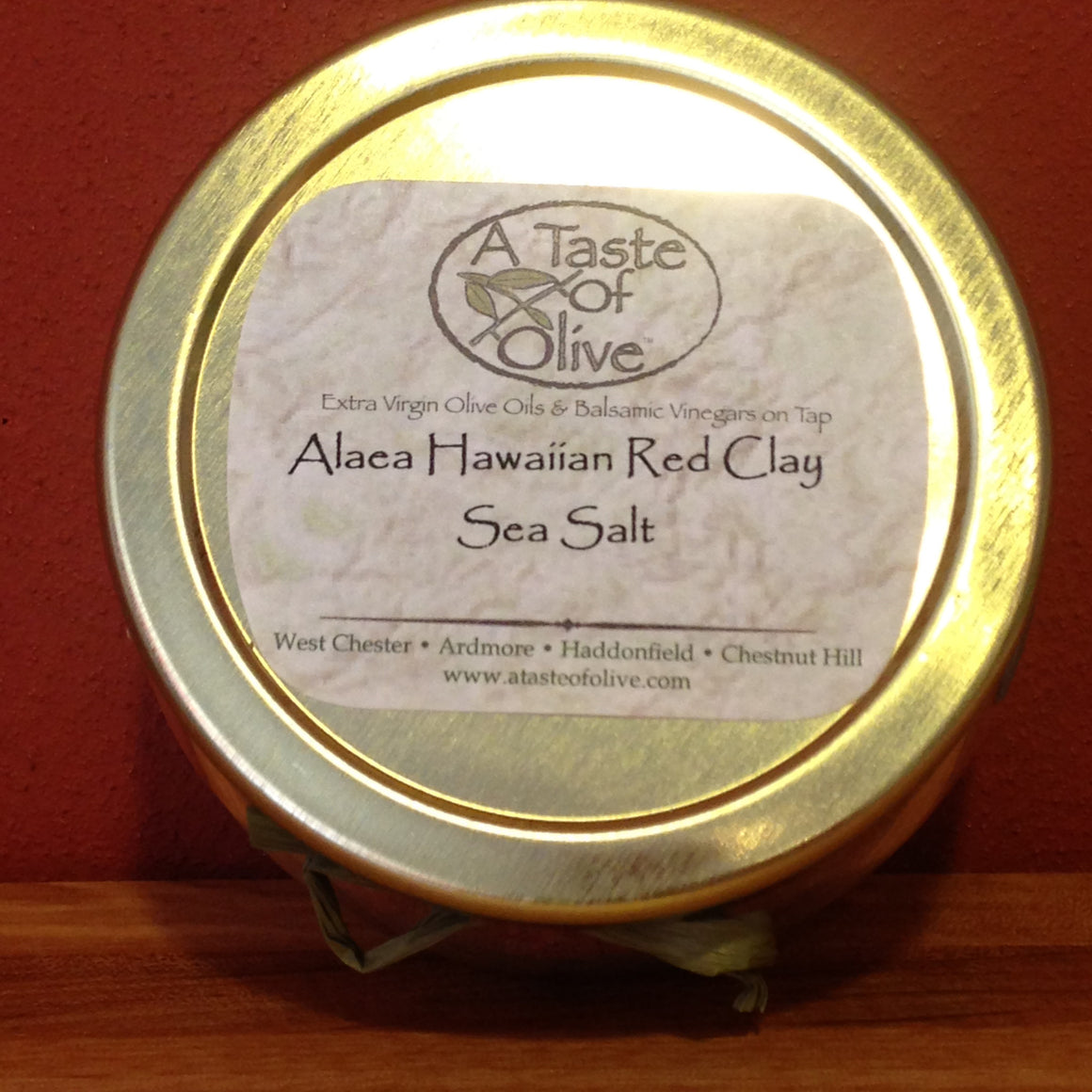 Alaea Hawaiian Red Clay Sea Salt - A Taste of Olive  - 1