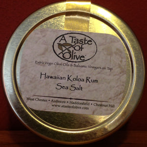 Hawaiian Koloa Rum Sea Salt - A Taste of Olive