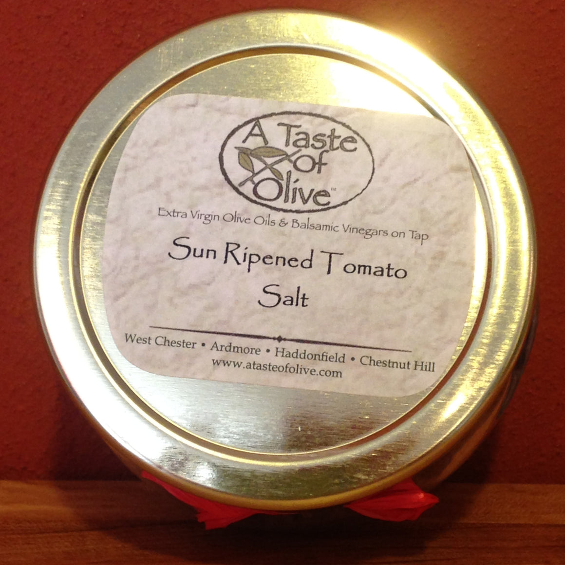 Sun Ripened Tomato Sea Salt - A Taste of Olive