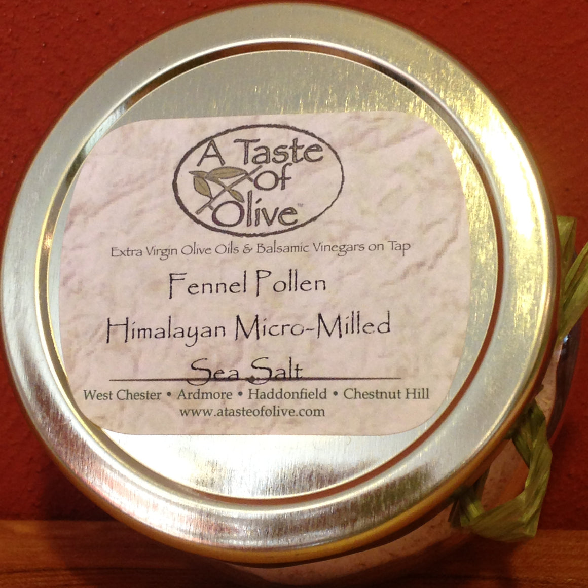 Fennel Pollen Himalayan Micro-Milled Sea Salt - A Taste of Olive