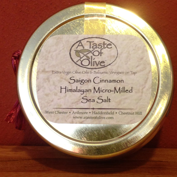 Saigon Cinnamon Pink Sea Salt - A Taste of Olive - 2