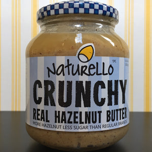 Naturello Crunchy Real Hazelnut Butter