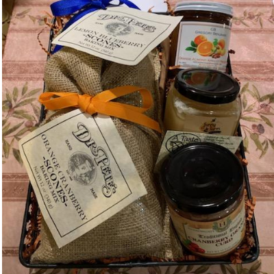 Tea Time Gift Basket - A Taste of Olive