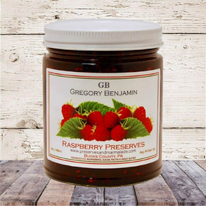 Benjamin Gregory Raspberry Preserves - A Taste of Olive