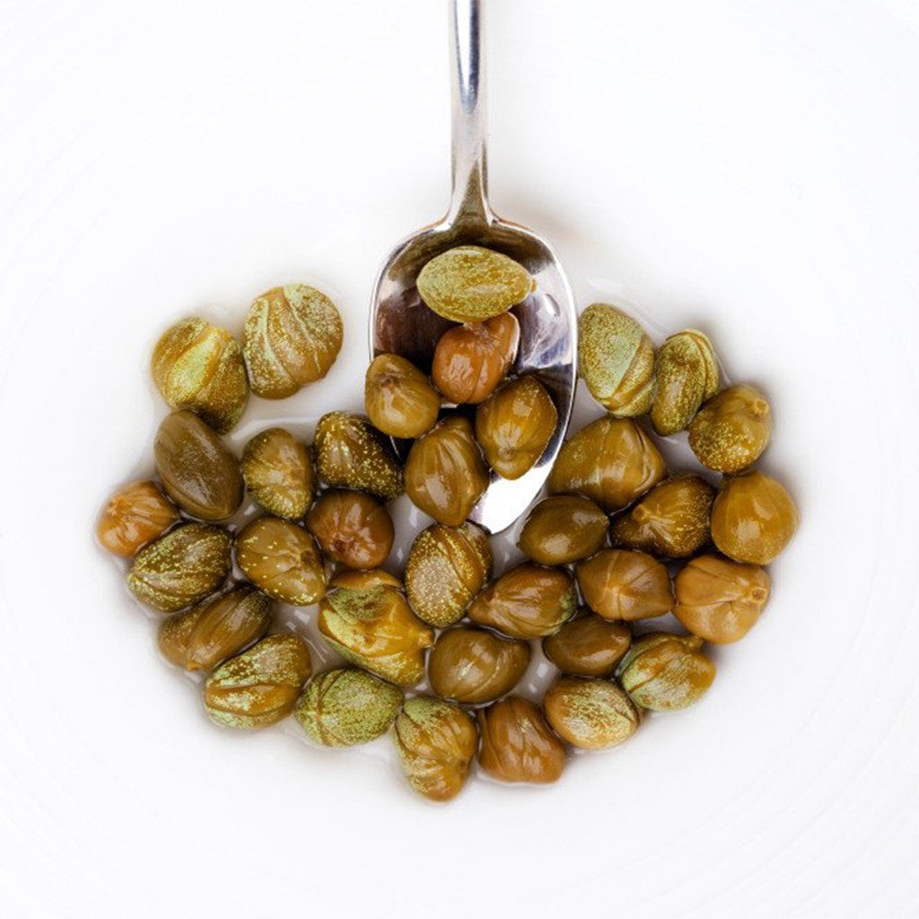 Capers and Garlic Extra Virgin Olive Oil - A Taste of Olive - 1