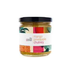 Mango Pineapple Chutney - A Taste of Olive