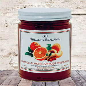 Benjamin Gregory Orange Almond Apricot Preserves - A Taste of Olive