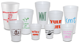 Personalized Styrofoam Cups | Limelight Paper