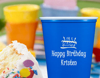 Personalized custom cups of all types for your next party, wedding or other celebration.