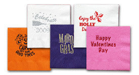 Beverage Napkins Seasonal