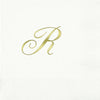 Pre-Printed Beverage Napkins<br> 3-Ply Initial (Quill)