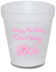 Custom 10 oz Styrofoam Cups - Limelight Paper