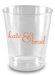 Custom 8 oz Clear Plastic Cups - Limelight Paper