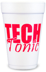 Pre-Printed Styrofoam Cups<br> Tech Tonic