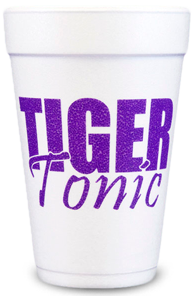 Pre-Printed Styrofoam Cups<br> Tiger Tonic