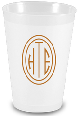Custom 12 oz Frost Flex Cups - Limelight Paper