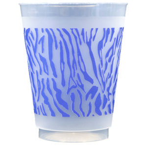 Pre-Printed Frost-Flex Cups<br> Tiger