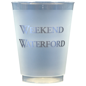 Pre-Printed Frost-Flex Cups<br> Weekend Waterford (silver)