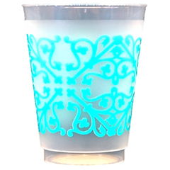 Pre-Printed Frost-Flex Cups<br> Patterns (tiffany blue)