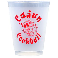 Pre-Printed Frost-Flex Cups<br> Cajun Cocktail