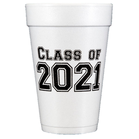 Pre-Printed Styrofoam Cups<br> Class of 2018