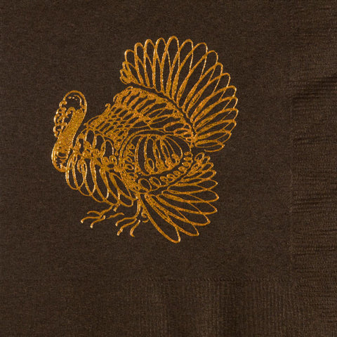 Pre-Printed Beverage Napkins<br> Turkey